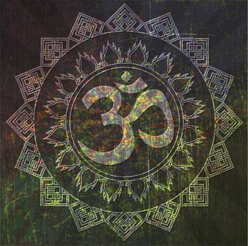 OM Zeichen Mandala Om Symbol Mandala