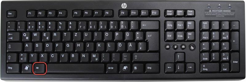OM Zeichen Tastatur 1